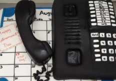 phone cake