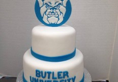 butler 2 tiered cake