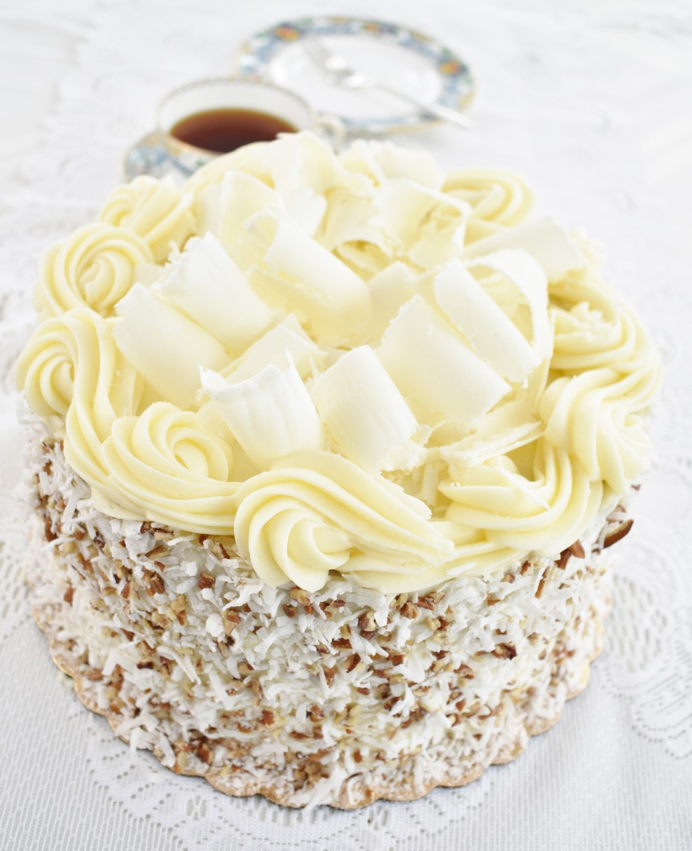 Italian Cream Cake Desserts By Helen
